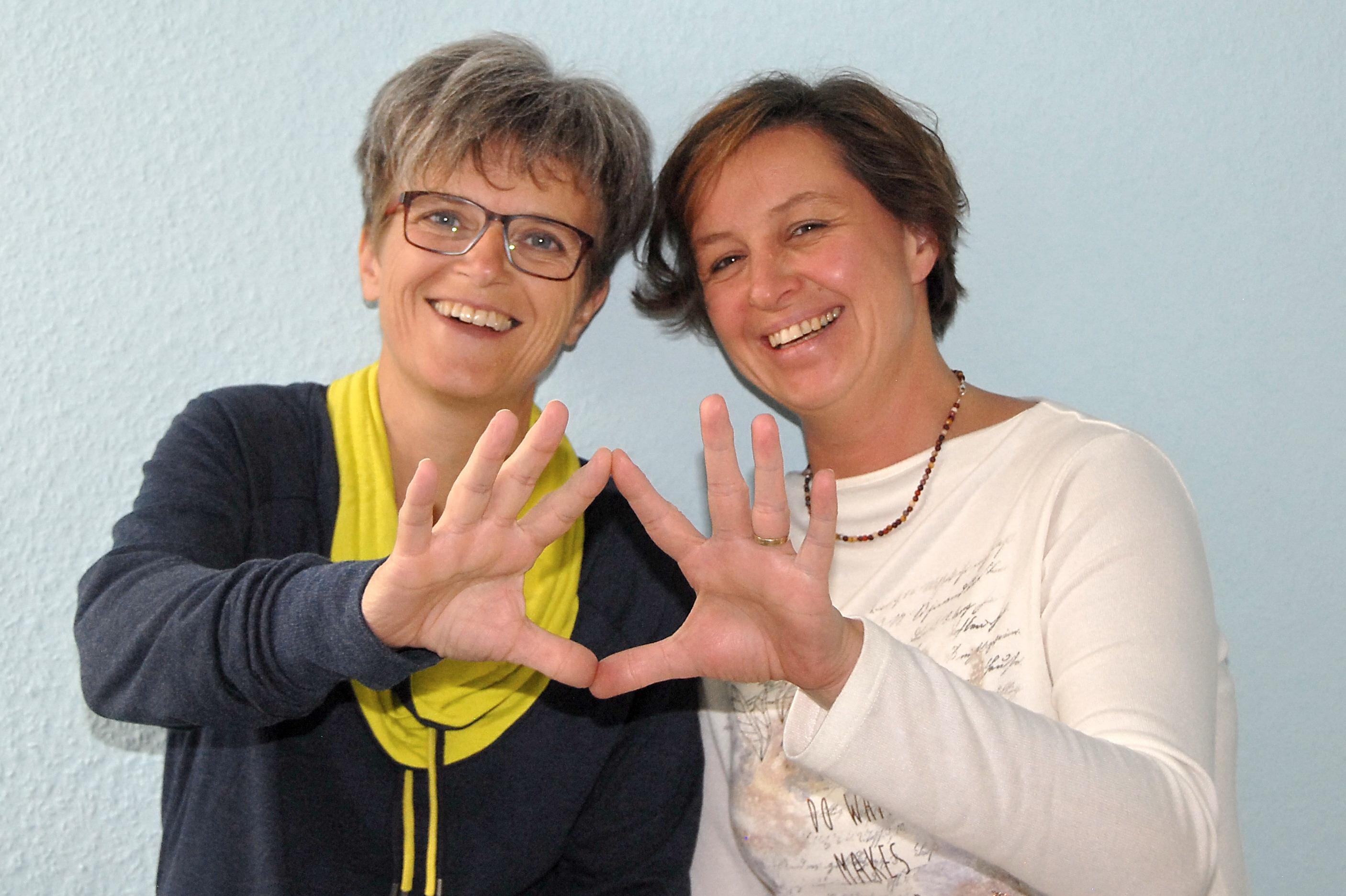 Doris Klob und Silke Buhman Anwendungen